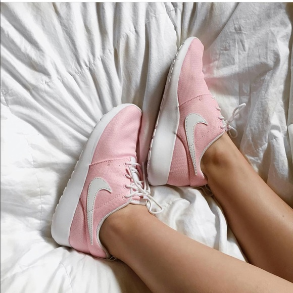Baby Pink Nike Roshes